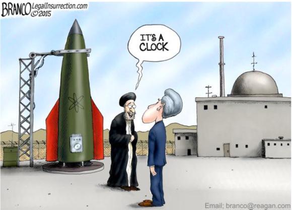 Iran-Clock