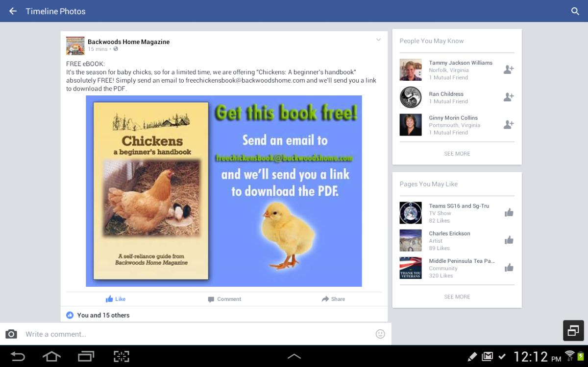 Beginner Chicken Raising eBookFREE