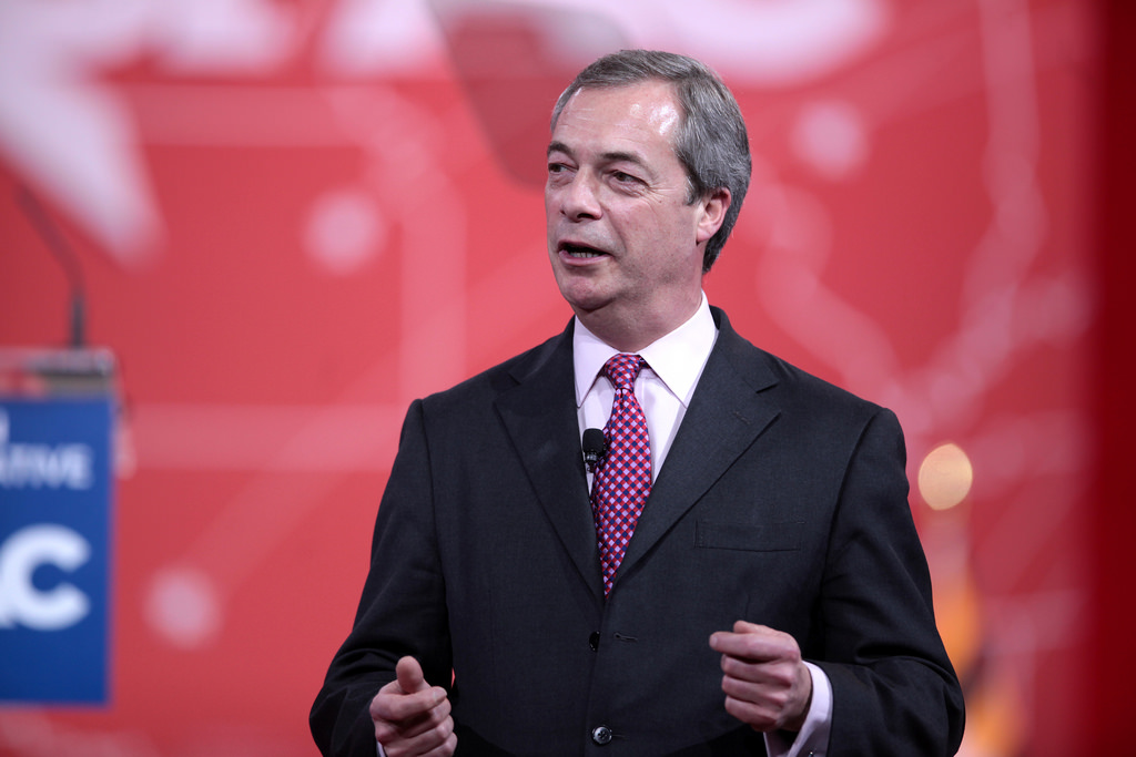 Nigel Farage And Donald Trump 'To Appear On StageTogether'