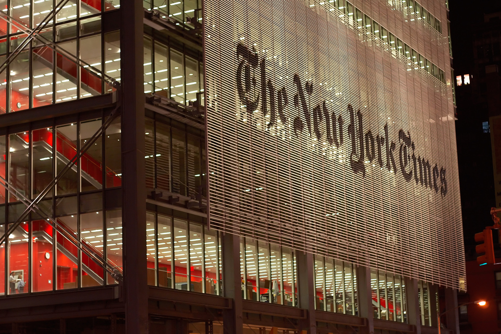 FBI Investigating Hack Of New York Times Reporters, Other NewsOutlets