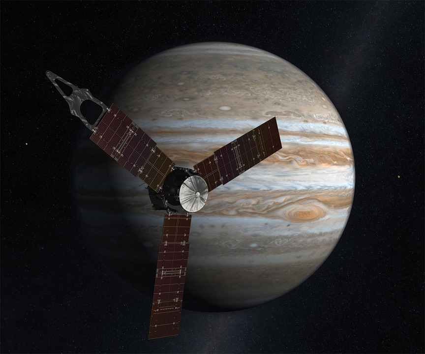 NASA's Juno Space Probe To Make Closest Pass OfJupiter