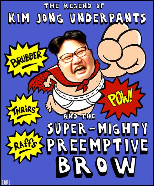 kim jong underpants