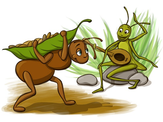 ant+and+grasshopper